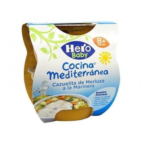 Hero Potito Cocina Mediterránea Cazuelita de Merluza Pack 2x200g