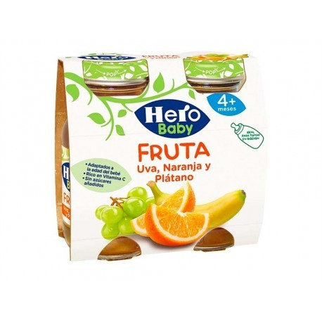 Hero Zumo de Frutas Variadas Pack 2x130ml