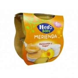 Hero 2x130g pack Yogurt and Peach