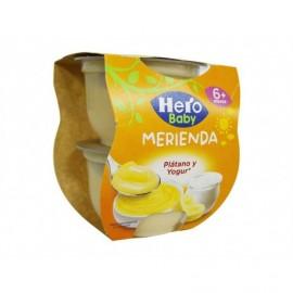 Hero Plátano y Yogur Pack 2x130g