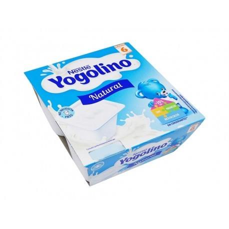 Nestlé Postre Infantil Natural Yogolino Pack 4x100g