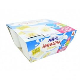 Nestlé Postre Infantil de Plátano Yogolino Pack 4x100g