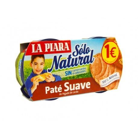 La Piara Paté Suave Tapa Negra Pack 2x75g