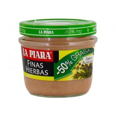 La Piara Paté Finas Hierbas Tarro 100g