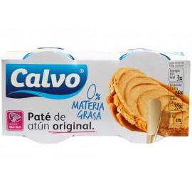 Calvo Paté de Atún Original 0% Materia Grasa Pack 2x75g