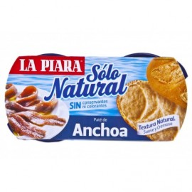 La Piara 2x75g pack Anchovy pate