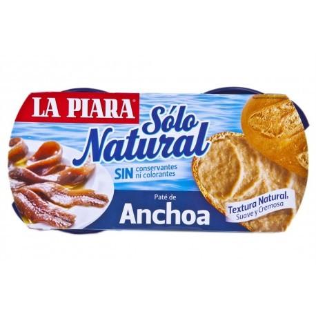 La Piara Paté de Anchoas Pack 2x75g