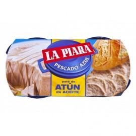 La Piara 2x75g pack Tuna pate in oil