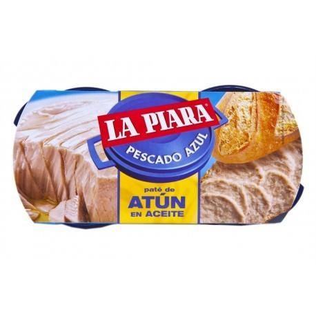 La Piara Paté de Atún en Aceite Pack 2x75g