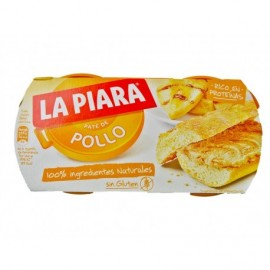 La Piara 2x75g pack Chicken pie