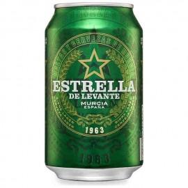 Estrella Levante Beer 33 Cl pack 8