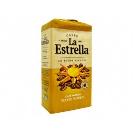La Estrella Café Molido Natural Paquete 250g