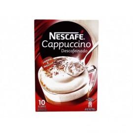 Nescafé Café Soluble Capuccino Descafeinado Caja 10 Sobres 125g