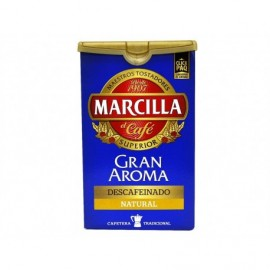 Marcilla 200g package Natural decaffeinated ground coffee