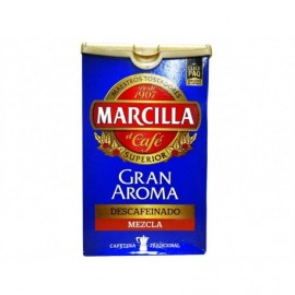 Marcilla 200g package Blend of decaffeinated ground coffee