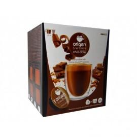 Origen Box of 16 Capsules Coffee chocolate