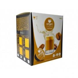Origen Box of 16 Capsules Cortado latte