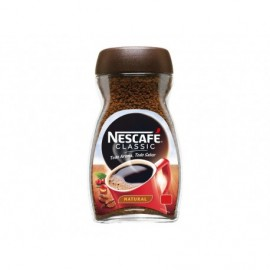 Nescafé 100g glass jar Classic natural soluble coffee