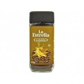 La Estrella 200g glass jar Natural soluble coffee