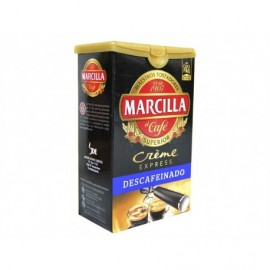 Marcilla Creme Express 250g pack Decaffeinated ground coffee