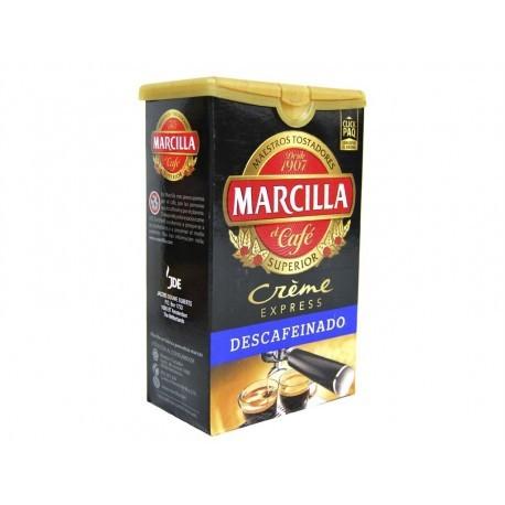 Marcilla Creme Express Café Molido Descafeinado Paquete 250g