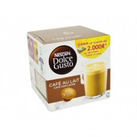 Nescafé 16 Capsules Dolce Gusto coffee with milk