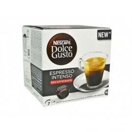 Nescafé 16 Capsules Café Dolce Gusto Intense Espresso Decaffeinato