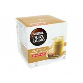 Nescafé 16 Capsules Café Dolce Gusto Espresso Macchiato Decaffeinato