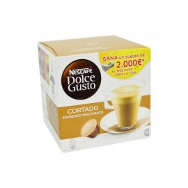 Nescafé Café Dolce Gusto Cortado Espresso Macchiato Caja 16 Cápsulas