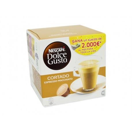 Nescafé Box of 16 Capsules Dolce Gusto Espresso Macchiato latte