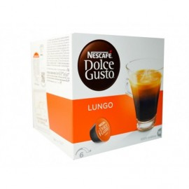 Nescafé 16 Capsules Dolce Gusto Lungo coffee