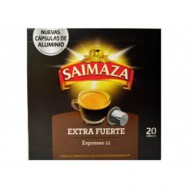 Saimaza Box of 20 Capsules Extra strong espresso coffee 11