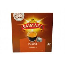 Saimaza Café Fuerte Espresso 9 Caja 20 Cápsulas