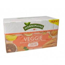 Hornimans Té Veggie Zanahoria, Naranja y Melocotón Caja 20 ud
