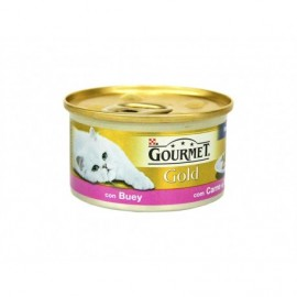 Purina Gourmet Beef mousse can 85g