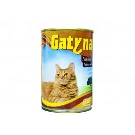 Gatynat Paté Rico en Pollo para Gatos Lata 400g