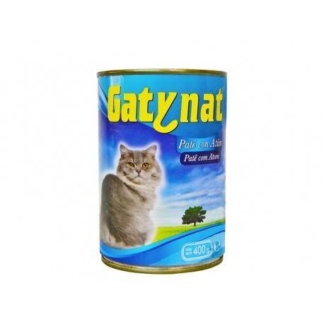 Gatynat Paté de Atún para Gatos Lata 400g