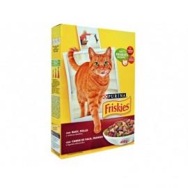 Friskies Alimento para Gatos de Buey, Pollo y Verduras Caja 400g