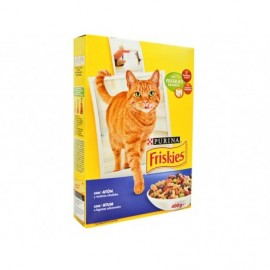 Friskies Cat food with tuna and vegetables box 400g