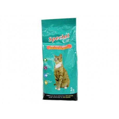 Special Cat Alimento para Gatos de Atún y Salmón Saco 2kg