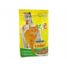 Friskies Cat food with chicken, rabbit and vegetables 1.5kg bag