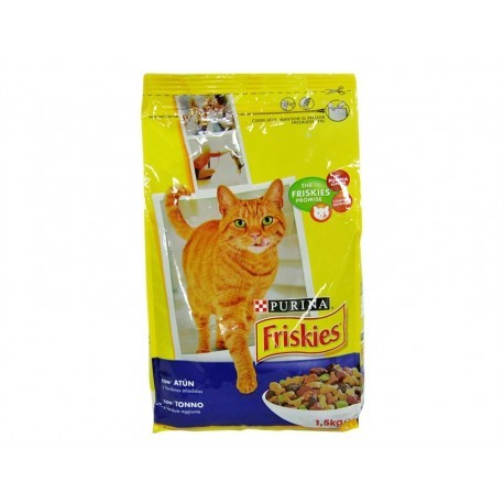 Friskies Alimento para Gatos de Atún y Verduras Saco 1,5kg