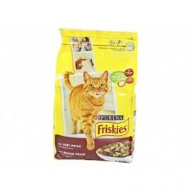 Friskies Beef, Chicken and Vegetable Cat Food 1.5kg bag