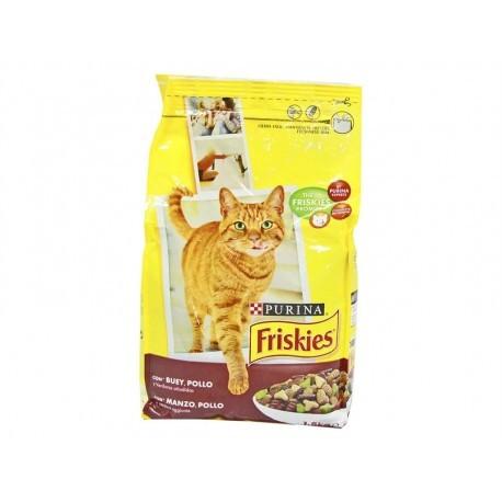 Friskies Alimento para Gatos de Buey, Pollo y Verduras Saco 1,5kg