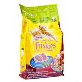 Friskies Alimento para Gatos de Buey, Pollo y Verduras Saco 4kg