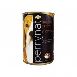 Perrynat Paté for Dogs Assortment of Meats canned 400g