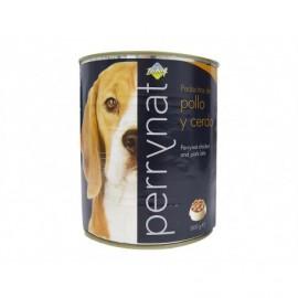 Perrynat Paté para Perros de Pollo y Cerdo Lata 800g