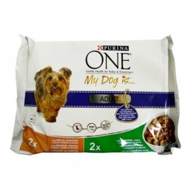 Purina One Chicken and Lamb Food for Adult Dogs 100g bag