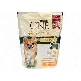Purina One Alimento de Pollo y Arroz Perros Activos 1-10 kg Saco 800g