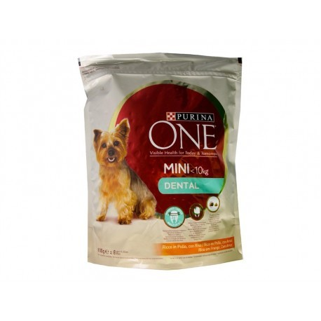 Purina One Alimento para Perros Pequeños Proteccion Dental Saco 800g